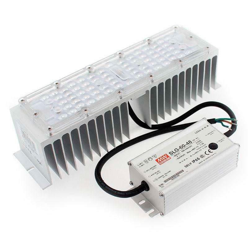Kit LED Farola Fernandina y Villa Philips 60W + Mean Well